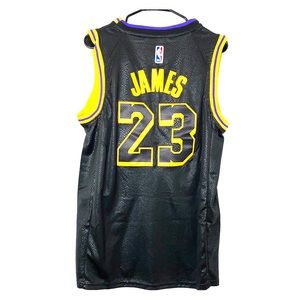 NBA Los Angeles Lakers Jersey Black Lebron James